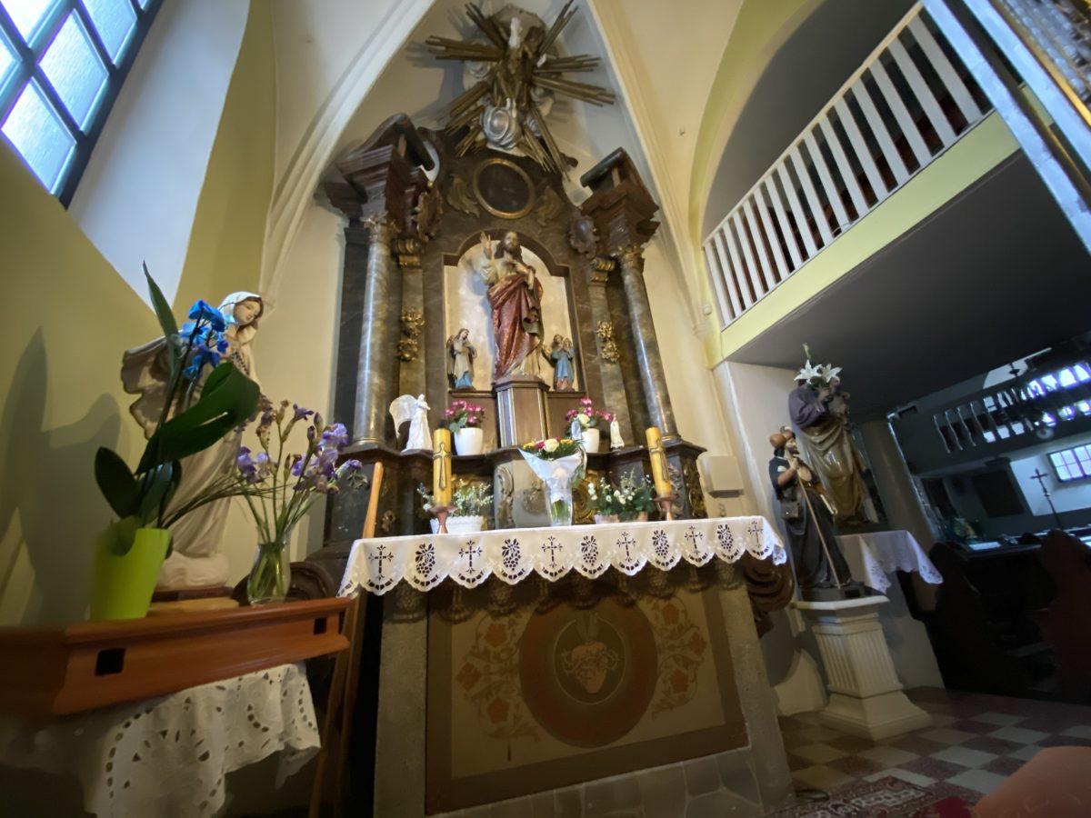 Ołtarz kaplica